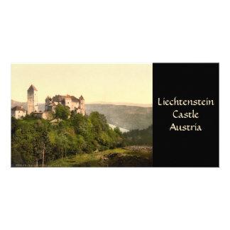Vaduz Castle, Liechtenstein Customized Photo Card