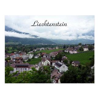 vaduz city postcard