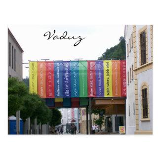 Vaduz Liechtenstein Postcard
