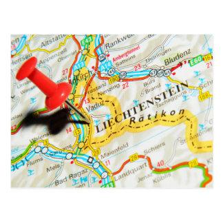 Vaduz, Liechtenstein Postcard