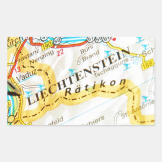 Vaduz, Liechtenstein Rectangular Sticker