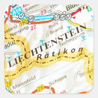 Vaduz, Liechtenstein Square Sticker
