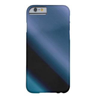 Vague l Blue-Black Abstract Barely There iPhone 6 Case
