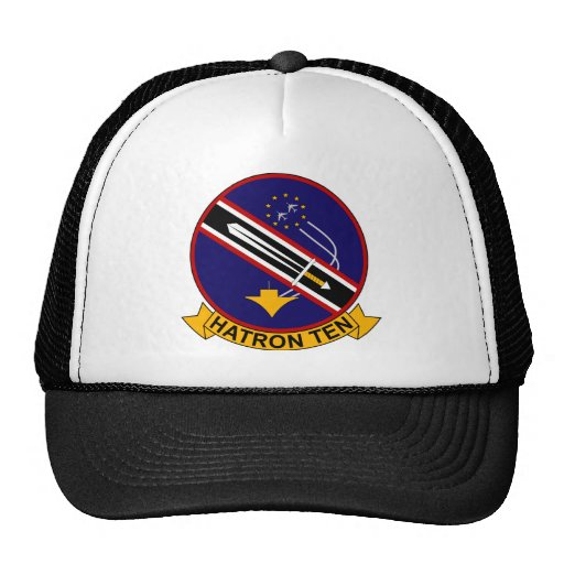 VAH - 10 HATRON TEN - Heavy Attack Squadron Mesh Hats