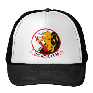VAH - 2 HATRON Two -Heavy Attack Squadron Mesh Hats