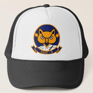 VAH - 9 Hoot Owls -Heavy Attack Squadron HATRON Trucker Hat