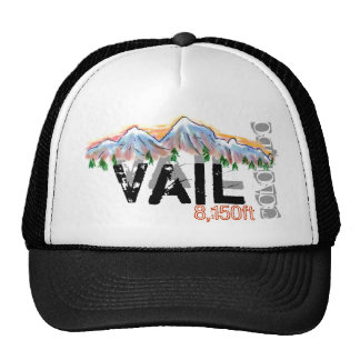 Vail Colorado elevation hat