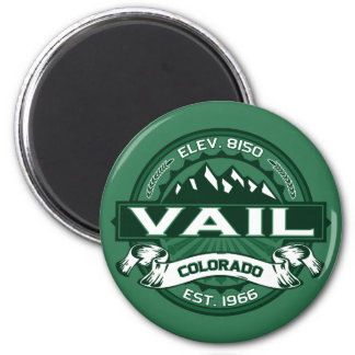 "Vail ""Colorado Green"" Logo Magnet"