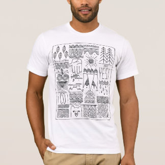 vail colorado handdrawn T-Shirt