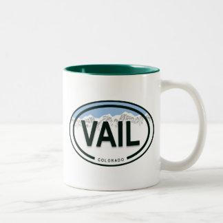 Vail Colorado Mountain Tag Mug