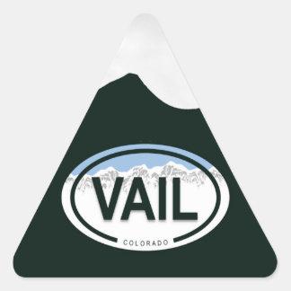 Vail Colorado Mountain Tag Stickers