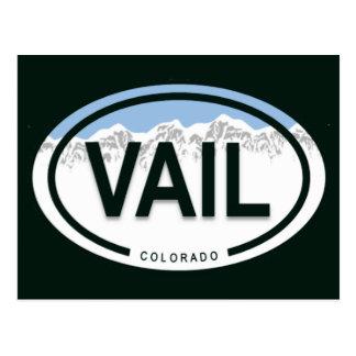 Vail Colorado Rocky Mountain Postcard