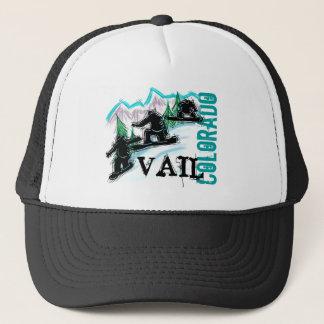 Vail Colorado snowboarder hat