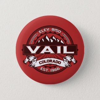 Vail Logo Red 6 Cm Round Badge