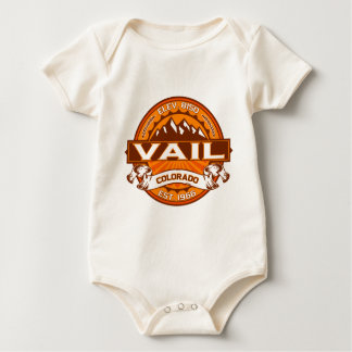 Vail Tangerine Baby Bodysuit