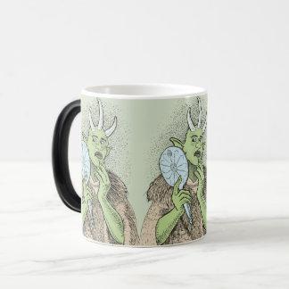 Vain Ogre with Hand Mirror Morphing Mug