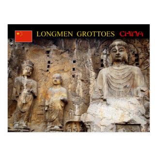 Vairocana Buddha, Longmen Grottoes, China Postcard