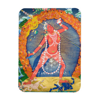 Vajrayogini Tibetan Buddhist Deity Magnet