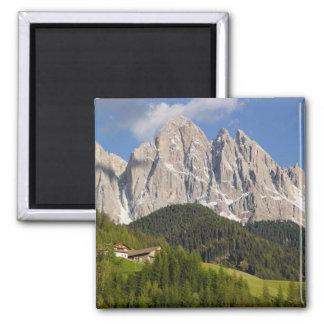 Val di Funes, Villnosstal, Dolomites, Italy Magnet