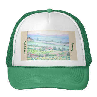 Val d'Orcia, Trucker Hat