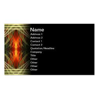 Val Halla Abstract Digital Art Business Card Templates