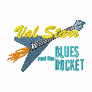 Val Starr & the Blues Rocket small logo