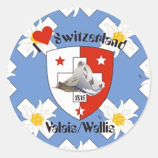 Valais Valais Switzerland Suisse Svizzera sticker