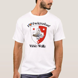 Valais/Valais Switzerland Suisse T-shirt