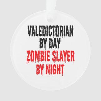 Valedictorian Zombie Joke Ornament