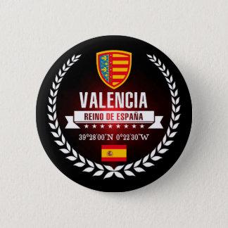 Valencia 6 Cm Round Badge