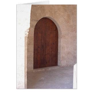 Valencia Door Card