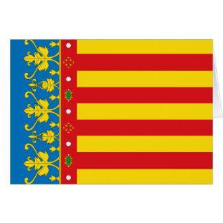 Valencia Flag Card