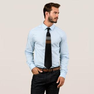 Valencia Gray/Brown Tie