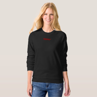 Valencia Runway 1986 Women's Black Sweatshirt