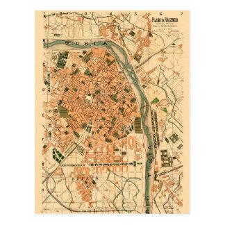 Valencia Spain 1904 Postcard