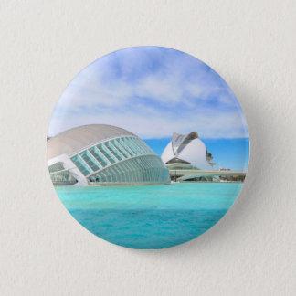 Valencia, Spain 6 Cm Round Badge