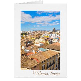Valencia, Spain Card