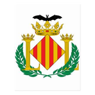 Valencia (Spain) Coat of Arms Postcard