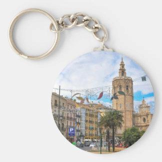 Valencia, Spain Key Ring