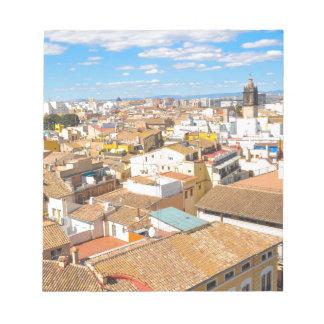 Valencia, Spain Notepad