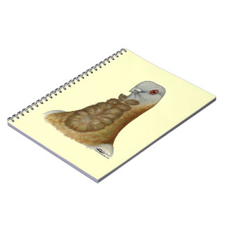 Valencian Figurita Pigeon Portrait Notebook