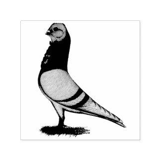 Valencian Figurita Pigeon Self-inking Stamp