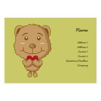 Valentien Bear Business Card