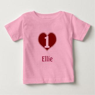 Valentine 1st Birthday Tshirts