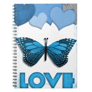 Valentine #6 spiral notebook