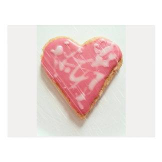 Valentine Abstract Art Heart jjhelene Postcard