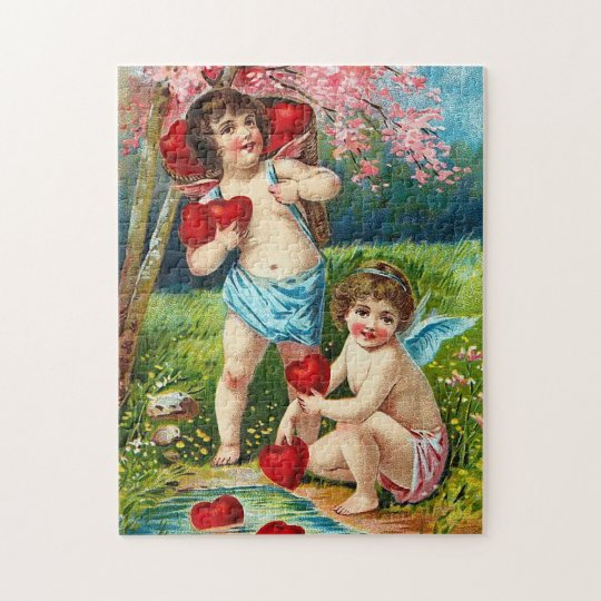 Valentine Angels Jigsaw Puzzle