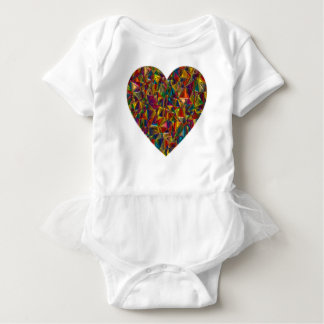 Valentine Baby Bodysuit