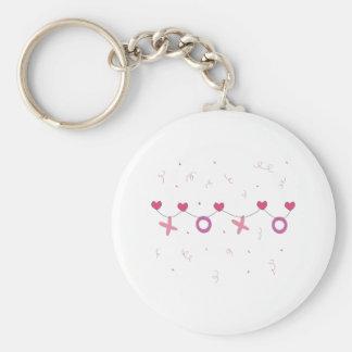 Valentine Banner Key Chain