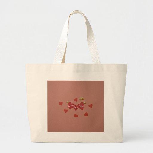 Valentine Bee Mine! Tote Bag